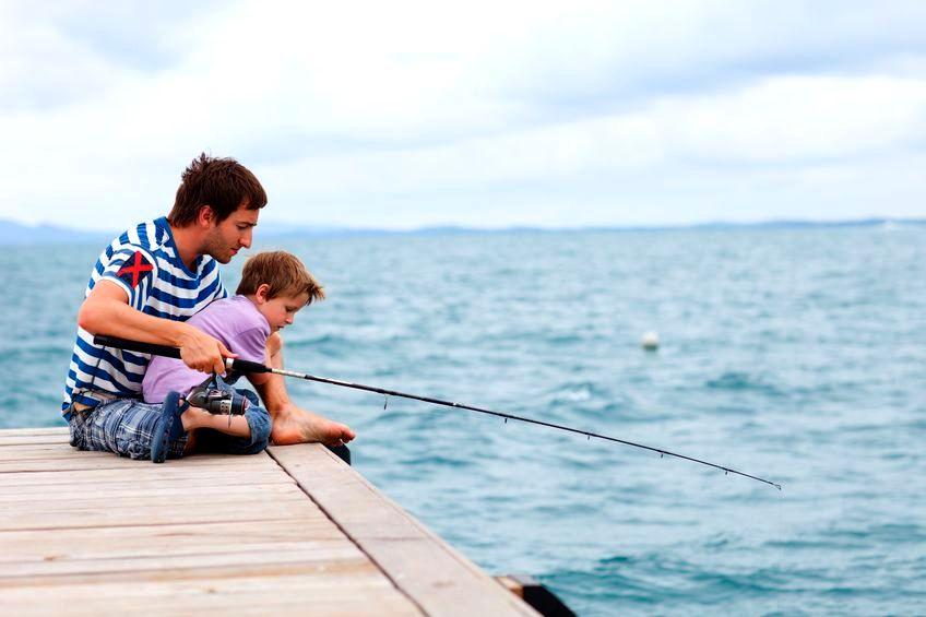 У кого муж занимается рыбалкой