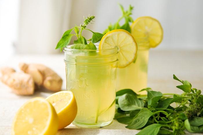 Как сделать напиток с имбирем и лимоном  940